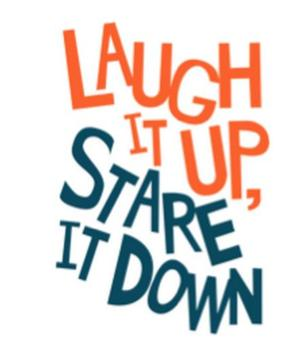 Full Cast Set for LAUGH IT UP, STARE IT DOWN at Cherry Lane Theater