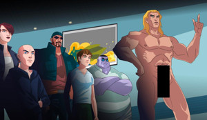 Hollywood Reporter Premieres Groundbreaking New Animated Series STAN LEE'S COSMIC CRUS