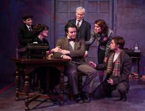 BWW Review: Spooky Action Theater Rewrites History with COLLABORATORS