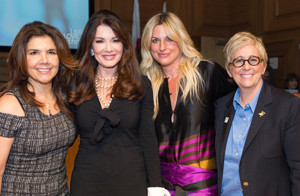 Inaugural LIVE LOVE THRIVE Women's Empowerment Conference Held Honoring Lisa Vanderpump and Nicole Ehrlich