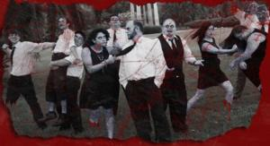 NIGHT OF THE LAUGHING DEAD Set for Carrollwood Players, 10/24