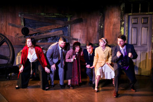 BWW Review: Wayward Theatre Company and Mission Theatre Company Bring a Fun and Thrilling GHOST TRAIN to the Minnesota Transportation Museum