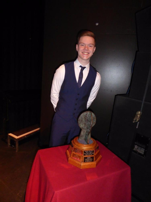 Ben Thomas is the 2017 WELSH MUSICAL THEATRE YOUNG SINGER OF THE YEAR