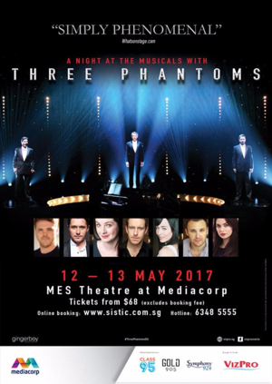 Three Phantoms Unmask the World of Musical Theatre