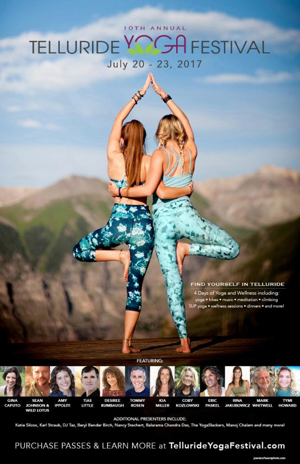 The Telluride Yoga Festival Announces Full Schedule