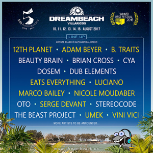 Nicole Moudaber, Luciano, Adam Beyer, B.Traits, Eats Everything and More Set for DREAMBEACH This August