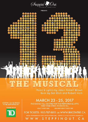 BWW Blog: Brynn Bonne - Come See 13 THE MUSICAL at The Richmond Hill Centre For The Performing Arts, March 23-25