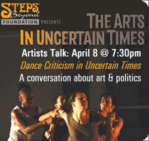 BWW Review: STEPS BEYOND FOUNDATION Artists Talk: Dance Criticism in Uncertain Times