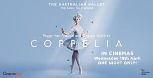 CinemaLive Presents COPPELIA In Theatres