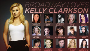 Krysta Rodriguez, Casey Cott, Courtney Reed and More Sign on for BROADWAY LOVES KELLY CLARKSON at Feinstein's/54 Below