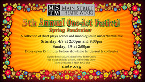 MSTW Presents their 5th Annual One-Act Festival