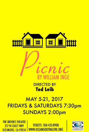 William Inge's PICNIC to Close 2016-17 Season at Oceanside Theatre Company