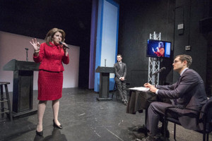 MSNBC Calls Off Broadway's Political Experiment HER OPPONENT 'Absolutely Fascinating'; Previews Continue at The Theater Center