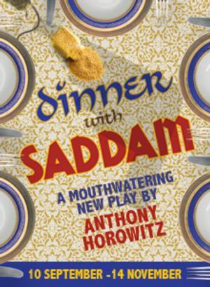 Steven Berkoff&Shobu Kapoor Set for DINNER WITH SADDAM at Menier Chocolate Factory