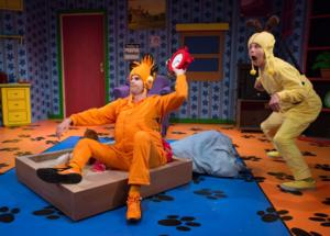 BWW Reviews: GARFIELD: THE MUSICAL WITH CATTITUDE Celebrates a Timeless Cat at Adventure Theatre MTC
