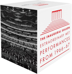 Metropolitan Opera Celebrates 50 Years With THE INAUGURAL SEASON: EXTRAORDINARY MET PERFORMANCES FROM 1966-67 Recording