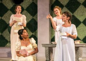 BWW Reviews:  LOVES LABOURS LOST at STNJ's Outdoor Stage is a Delight for Theatergoers