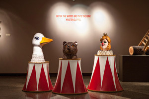 Kristen Cliffel Brings 'OUT OF THE WOODS AND INTO THE RING' to Canton Museum of Art