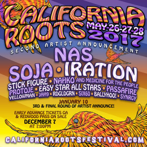 California Roots Music & Arts Festival Releases Second Artist Announcement