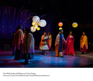 BWW Review: THE WHITE SNAKE at Center Stage