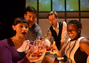 BWW Review:  START DOWN at Centenary Stage through 4/24 is Entertaining and Relevant