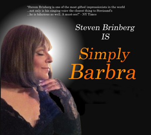 Steven Brinberg is SIMPLY BARBRA at Rockwell Stage and Show