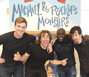 Michael and the Rockness Monsters Come to Symphony Space on 1/14