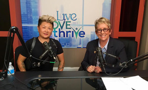 LIVE LOVE THRIVE Radio Featuring Inspiring Stories of Women in Entertainment