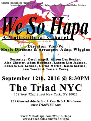 WE SO HAPA - A Multicultural Cabaret Coming to The Triad