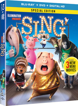 Global Animated Musical Hit SING Arrives on Digital HD & Special Edition Versions this March