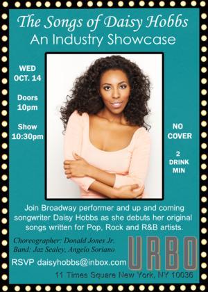Daisy Hobbs to Perform at URBO, 10/14