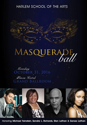 Michael Feinstein Among Honorees for Harlem School of the Arts' 2016 Gala Masquerade Ball