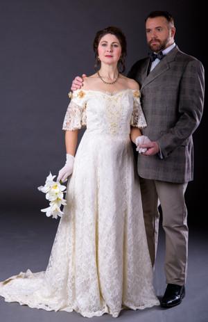 Susan Facer as Desiree Armfeldt and Douglas Irey as Fredrik Egerman
