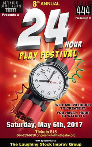 24 HOUR PLAY FESTIVAL to Return to Greenville Little Theatre This Spring