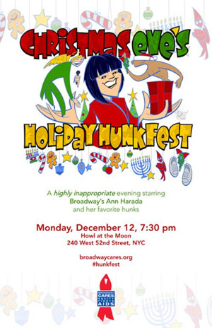 Ann Harada Will Lead CHRISTMAS EVE'S HOLIDAY HUNKFEST Benefit This December