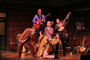 BWW Review: MILLION DOLLAR QUARTET Has a Whole Lotta Music Going at Dutch Apple
