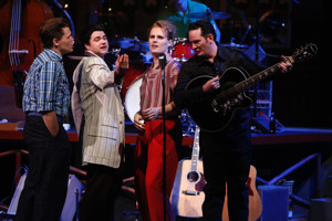 BWW Review: The Repertory Theatre of St. Louis Rocks the House with MILLION DOLLAR QUARTET