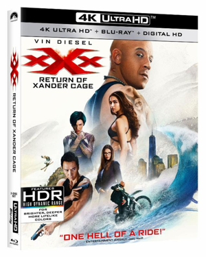 XXX: RETURN OF XANDER CAGE Arrives on Blu-ray Combo Pack Today