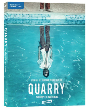 QUARRY The Complete First Season Available on Blu-ray & DVD, Today