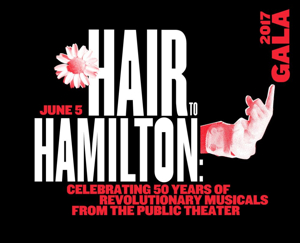 Brian d'Arcy James, Christopher Jackson, Phillipa Soo, Sydney Lucas and More Sign on for The Public's 'HAIR TO HAMILTON' Gala