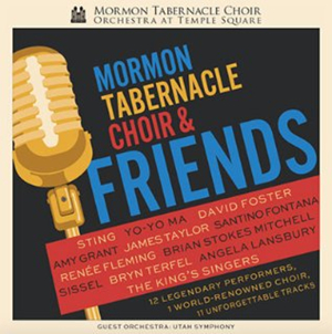Mormon Tabernacle Choir's New Album with Angela Lansbury, Santino Fontana & Brian Stokes Mitchell Snags #1 on Billboard Classical Crossover Chart