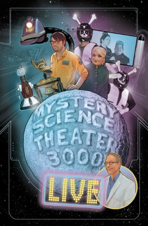 MYSTERY SCIENCE THEATER 3000 to Kick Off Live Tour This Summer; Tickets on Sale Friday!