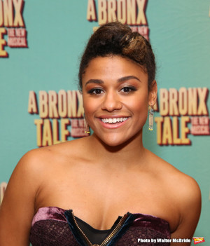 BWW Interview- Bullet Over the 'Bronx': Ariana DeBose Steps Out of the Ensemble and Into the Spotlight