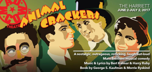 Cast, Creative Team Announced for ANIMAL CRACKERS at Mad Cow Theatre
