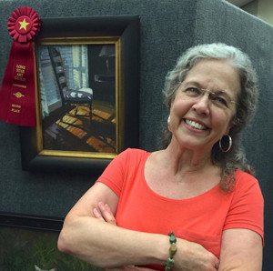 Work by Conroe Artist Nancy Parsons Selected for 2017 Rising Stars & Legends of Texas Poster