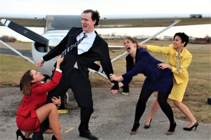 BWW Review: BOEING BOEING Soars at Highwood Theater