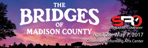 SRO Theatre Company to Stage Columbus Premiere of THE BRIDGES OF MADISON COUNTY
