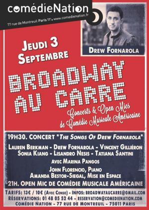 Broadway au Carre's Third Season Begins Tomorrow