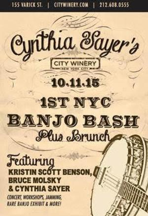 First NYC Banjo Bash to be Held 10/11