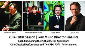 Portland Symphony Names Four Finalists to Replace Music Director Robert Moody